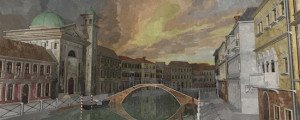 Aquarelle Venise 5